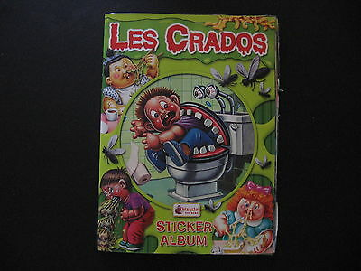 Garbage Pail Kids Les Crados Album 161/281 Stickers Missing Poster 2004 Merlin