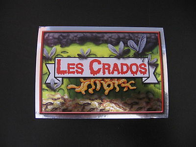 Garbage Pail Kids Les Crados #1 Logo Silver Sticker 2004 Topps Merlin France