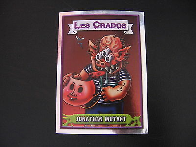Garbage Pail Kids Les Crados #76 JONATHAN MUTANT (MICHAEL Mutant/ZEKE Freak) OS5