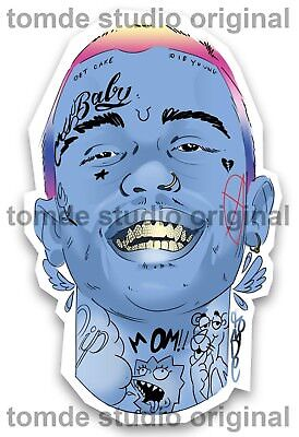 Lil Peep Sticker (3Pack) - Official, Original & Limited - Tomde