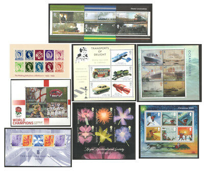 2003 - 2004 Royal Mail Miniature Sheets MNH. Each sold separately.