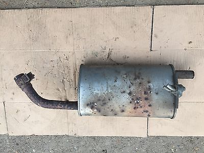 2006 Genuine Mitsubishi Colt EXHAUST BACK BOX SECTION 1.1 PETROL 3 door Hatch