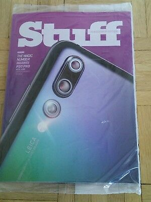 Stuff Magazine Subscribers Edition Cover June 2018 Huawei P20 Pro