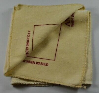 Siliconised polishing cloth for jewellery stone diamonds clean cleaner jewels