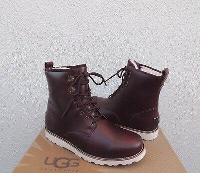 7524a040bbf UGG HANNEN TL Waterproof Cordovan Leather/ Sheepskin Boots, Us 13/ Eur 47  ~Nib
