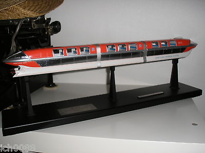 Disneyland 50th Anniversary Limited Edition Mark I Red Monorail Master Replicas