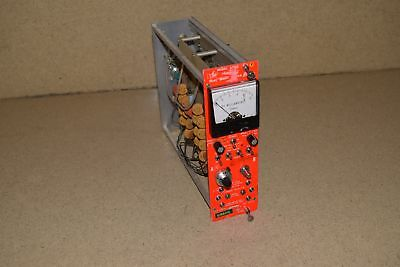 Vern Kiebler Model 6900 Dual Mwpc Meter Supply Nim Bin Plug In (Tp254)