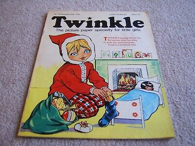 #153 1970 26th December Twinkle comic, The Picture Paper for Little Girls