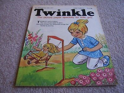 #192 1971 25th September Twinkle comic, The Picture Paper for Little Girls