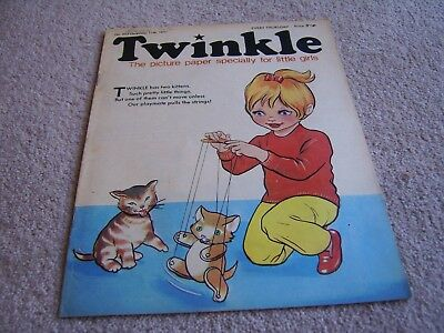#203 1971 11th December Twinkle comic, The Picture Paper for Little Girls