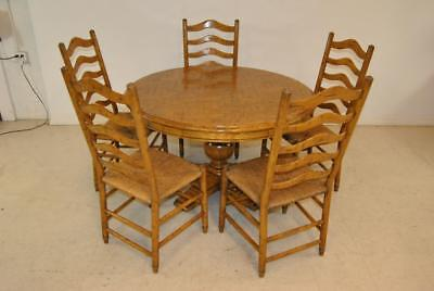 The Melbourne Collection Dining Room Table & 5 Chairs By Guy Chaddock