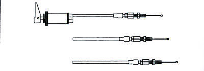 KIMPEX Choke Cable Assembly  Part# 05-146-06