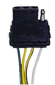 WESBAR Electric Wire Connector Male trunk  Part# 707275#