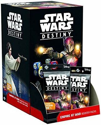 Star Wars Destiny Empire at War Booster Pack Display 36