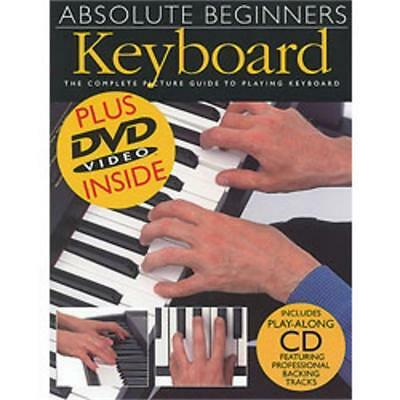 Keyboard piano instruction books cds video musical hal leonard absolute beginners keyboard book cd and dvd fandeluxe Gallery