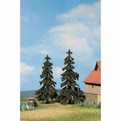 NOCH - 21921 Spruce Trees, pieces, 12 cm and 13 cm high H0,TT,N