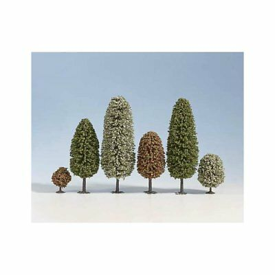 NOCH - (D)26406 - (D)Spring Trees, 10 pcs., 6.5 - (D)11 cm high