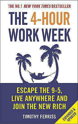 NEW The 4-Hour Work Week By Timothy Ferriss Paperback Free Shipping