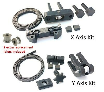 Anet A8 X & Y Axis Belt Tensioner Kit Upgrade 30pc w/GT2 Belts, Idler & Hardware