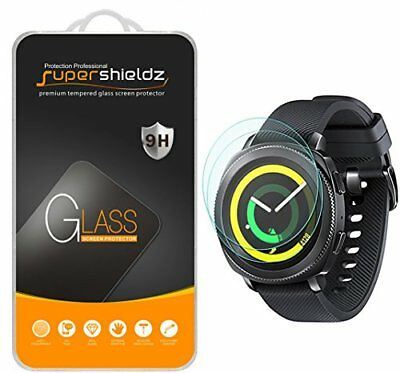 2-Pack Samsung Gear Sport Tempered Glass Screen Protector Full Screen Coverage