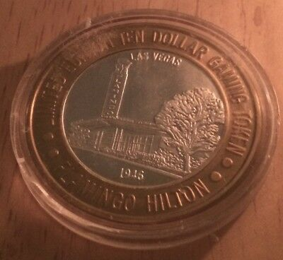 1946 Flamingo Hilton $10.00 Gaming Coin Limited Edition