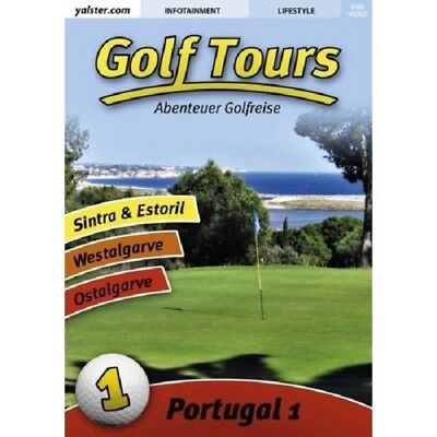 Golf Tours - Portugal Vol 1 - DVD Box Golfreise Doku Information Estoril Sintra