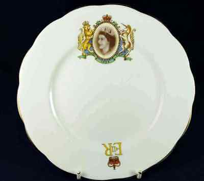 Royal Albert Queen Elizabeth Visit 1954 Side Plate