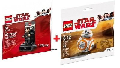 LEGO® DOPPELPACK POLYBAG 40288 Star Wars BB-8 + 40298 Star Wars DJ Code Breaker