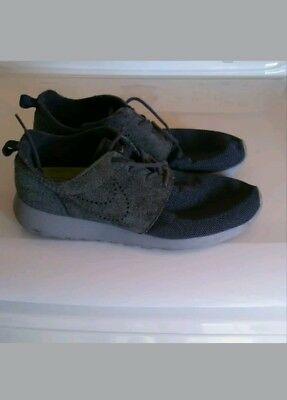 6e4ade013568 NIKE ROSHE RUN customized gray suede size 9 -  18.99