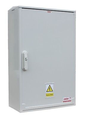 GRP Electric Meter Box - EMITER  530mm x 800mm x 245mm 3-Phase Surface Mounted