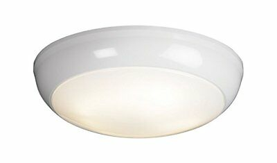 Round LED Bulkhead IP65 Maintained Emergency Commercial Light Fitting