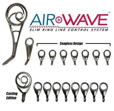 Duralite Black DBMW-SET American Tackle MicroWave Spinning Guides