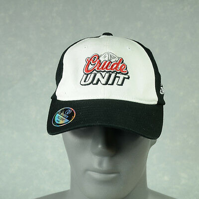 Crude Unit 2011 CE TAR Richardson Flexfit cap Black- White Size Sm-Med