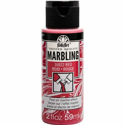 FolkArt Marbling Paint 2oz Plaid - BUY 6 GET 6 FREE  - Ready ACRYLIC POURING