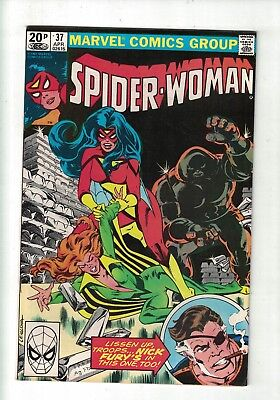 MARVEL COMIC Spider Woman No 37 April 1981 1st Appearance of Siryn