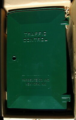 Vtg. Marbelite Traffic Signal Light control unit , NOS in box, c.1959, Nice!