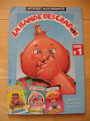 Garbage Pail Kids Les Crados Album 1 French 152/159 stickers almost complete