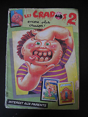 Garbage Pail Kids Les Crados Album 2 French 174/208 stickers 1990