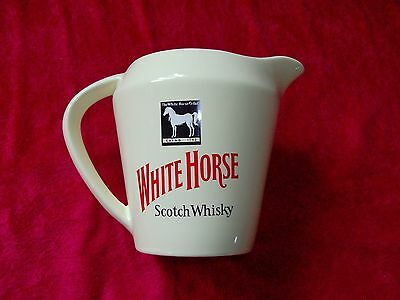Ice Pitcher Wasser Eis Krug Kanne White Horse Scotch Whisky Made in England