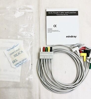 New Genuine Mindray 5 Lead Ecg Cable El6502A
