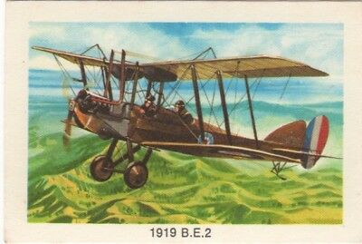 Tip Top Bread - Great Sunblest Air Race Cards.1919 BE2