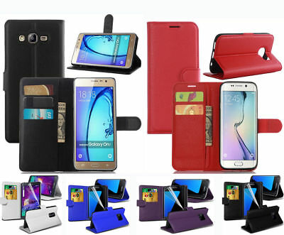 For Huawei P Smart 2018 Phone Premium Ultra Soft Leather Wallet/Flip Case Cover