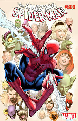Amazing Spider-Man #800 Variant Cover By Greg Land 5/30/18