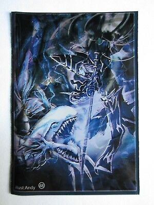 50 Yugioh Small Size Card Sleeves Deck Protector - Blue-Eyes vs. Dark Magician
