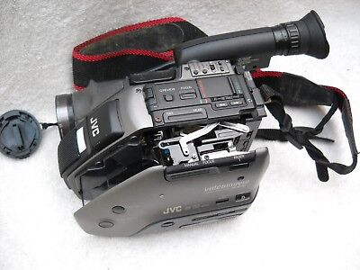 **jvc Gr-Ax10 Compact Vhs Handycam  Camera Recorder, Strap & Instruction Book**