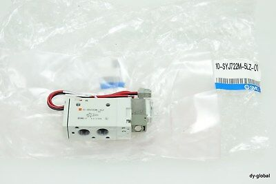 SMC Solenoid valve 10-SYJ722M-5LZ-01 for clean room VLV-I-406=2A-1