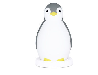 Zazu - Pam The Penguin Sleeptrainer And Nightlight - Bluetooth Grey
