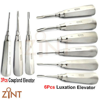 Root Canal Luxation Elevator Coupland Tooth Extracting Luxating Oral Surgery Kit