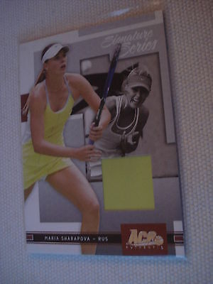 MARIA SHARAPOVA ^^ 04/05 Ace Authentic #4 JERSEY 265/500 ^^^ Tennis Trading Card