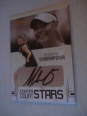 MARIA SHARAPOVA ^^^^ 2006 Ace Authentic AUTOGRAPH CC-14 ^^^ Tennis Trading Card